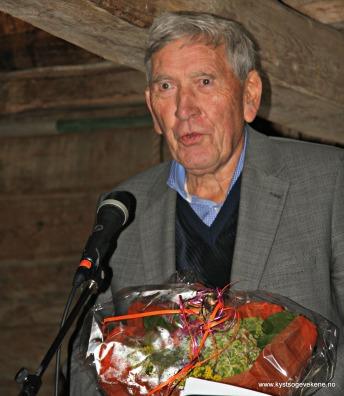 Nils Harald Lie takkar for Johannes Kleppevik Minneprisen